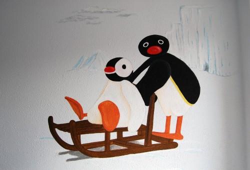 Kinderkamer Pingu