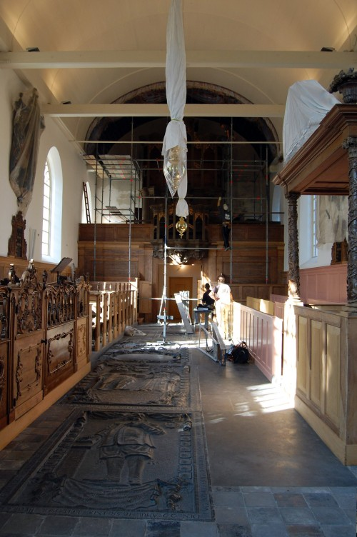 Laurentiuskerk oorspronkelijke staat.